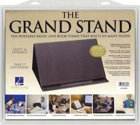 The Grand Stand® Portable Music and Bookstand