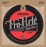 D'Addario EJ45 Silver Plated Nylon Classical Guitar Strings