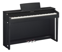 Yamaha Clavinova CLP625 Digital Piano, Matte Black