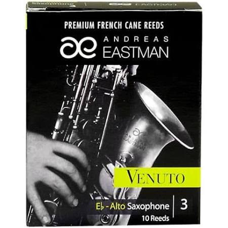 Eastman Venuto Eb Alto Saxophone Reeds Strength 3, Box of 10