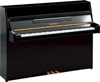 "Yamaha B1 43"" Upright Piano, Polished Ebony"