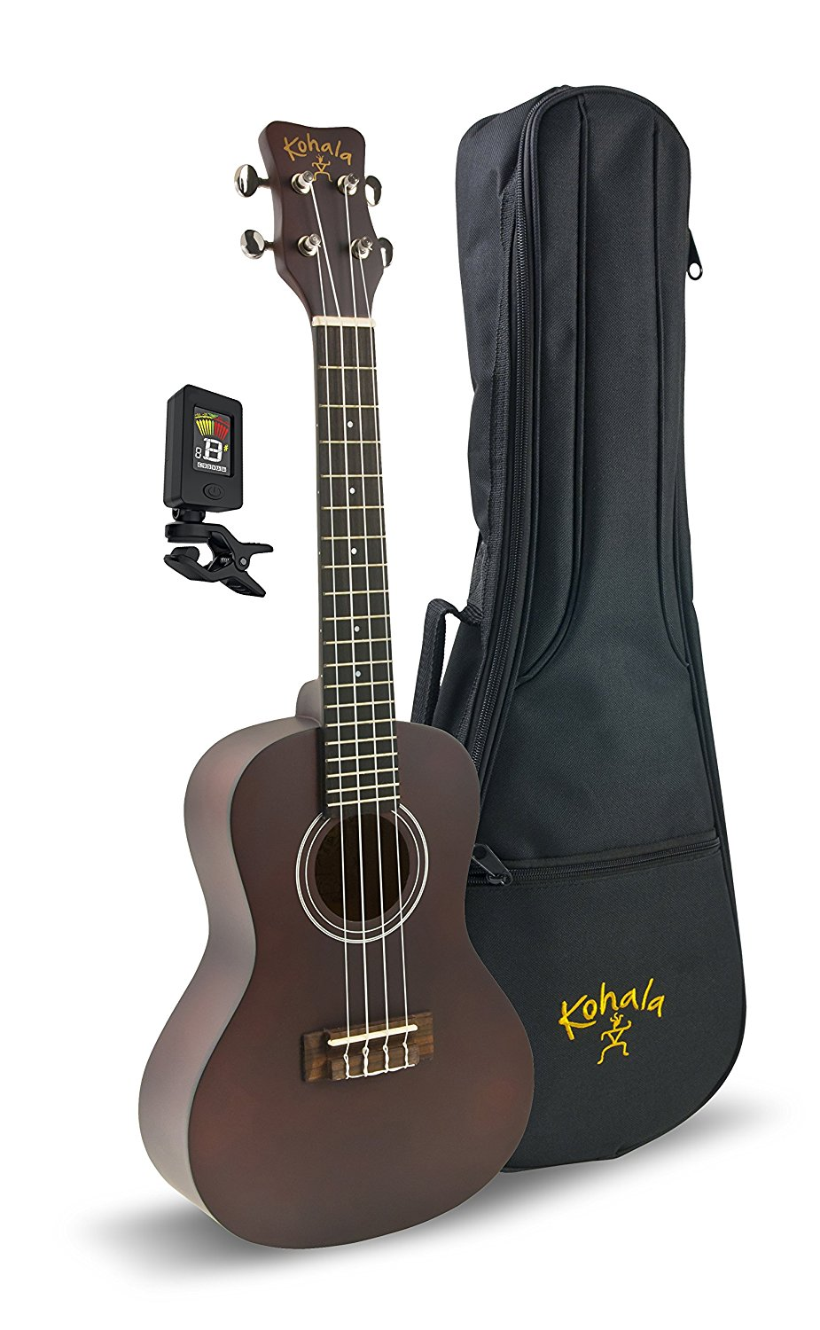 Kohala KPP-C Concert Ukulele Bundle Package