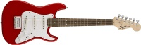 Fender Mini Stratocaster 3/4 Electric Guitar, Red