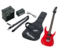 Ibanez IJRG220Z Jumpstart Electric Guitar Package, Vivid Red