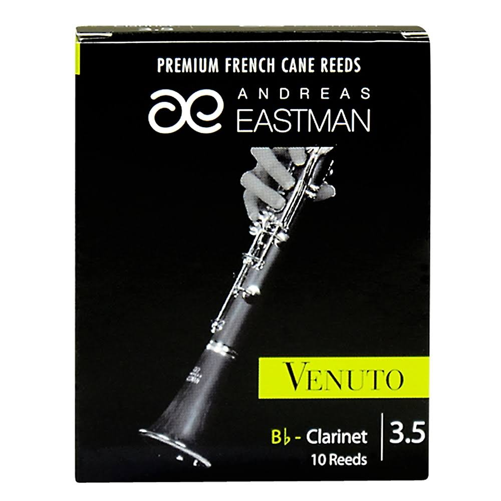 Eastman Venuto Bb Clarinet Reeds Strength 3.5, Box of 10