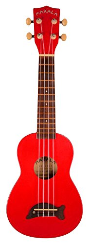 Makala MK-SD Dolphin Bridge Soprano Ukulele with Gig Bag