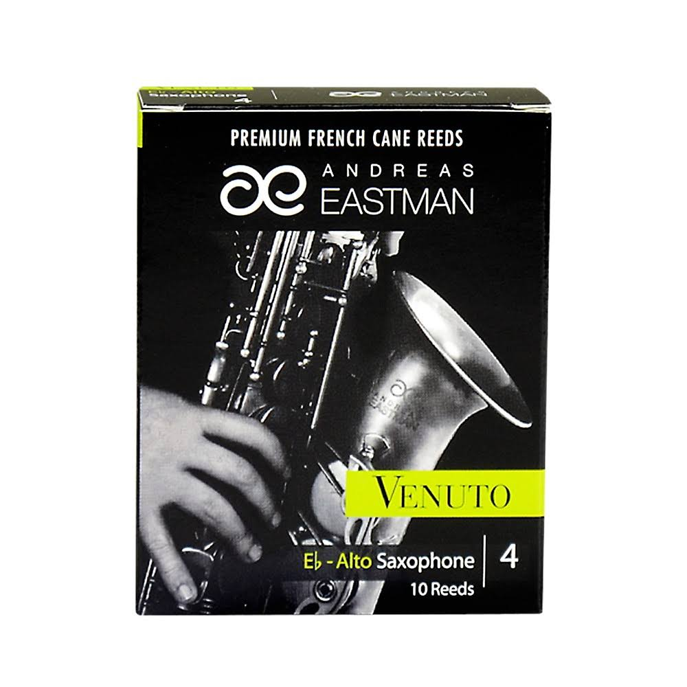 Eastman Venuto Eb Alto Saxophone Reeds Strength 4, Box of 10