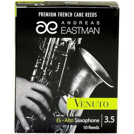 Eastman Venuto Eb Alto Saxophone Reeds Strength 3.5, Box of 10
